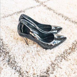 Shoes - 🛍 3/$20🛍D Brand Black Patent Pump Stiletto